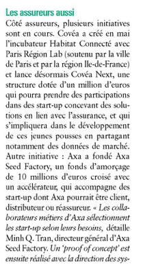 AGEFI: Banques, objectif start-up