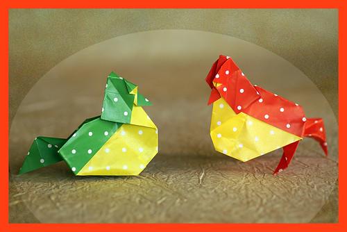 Origami Marjan Bird (Barth Dunkan)