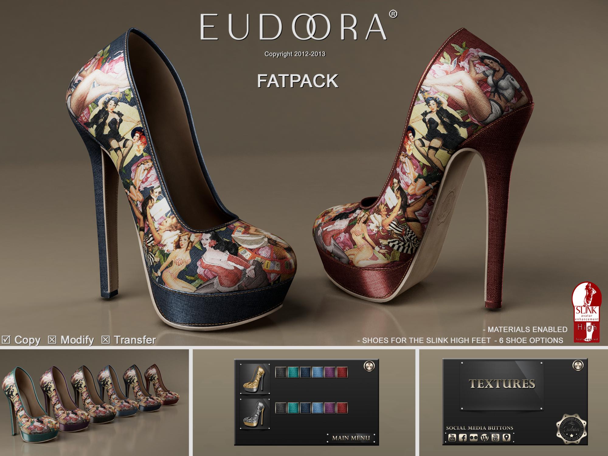 Eudora 3D PinupPumps (Slink High) Main Pic