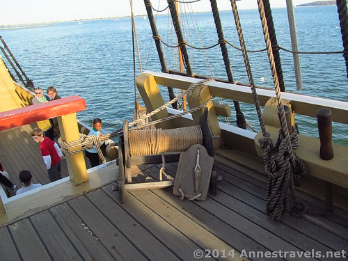 Deck of the Mayflower II, Plymouth, MA