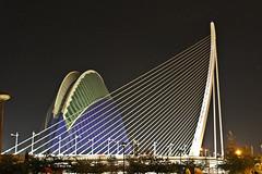El Puente de l'Assut de l'Or y el Ágora de Valencia