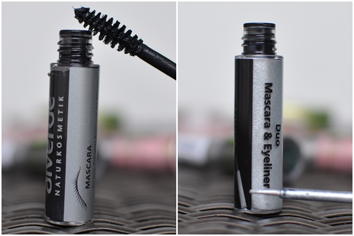 alverde Limited Edition Frozen Nature_ Duo Mascara & Eyeliner No. 10 Black & Silver Ice