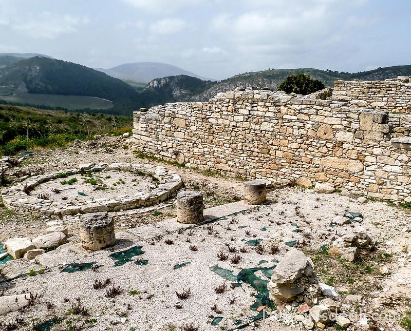 yacimiento de Segesta