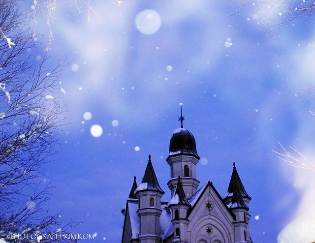 雪の美術館3