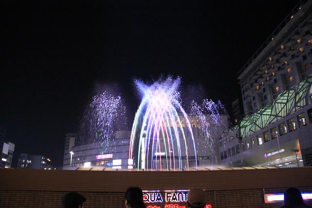 京都車站水舞