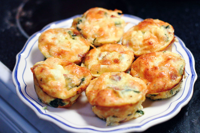 Sunday Brunch: Mini Italian Frittatas