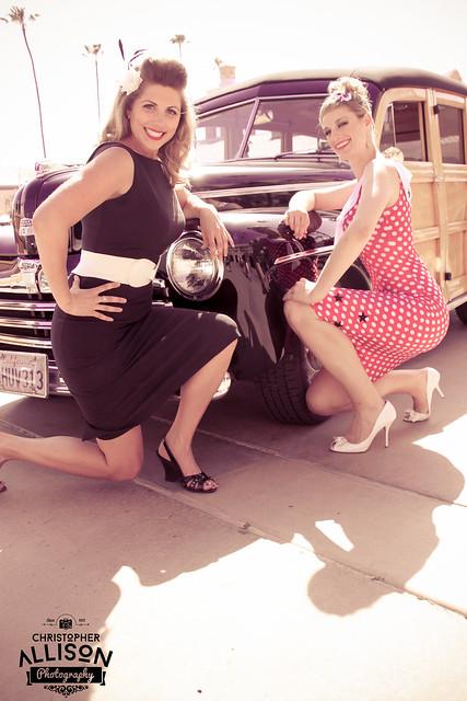 Pinup Dolls Lotta Legs and Miss D Goodman  - ChristopherAllisonPhotography -2314