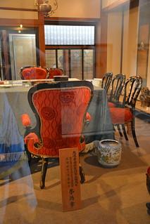 日清講和記念館:李鴻章座位