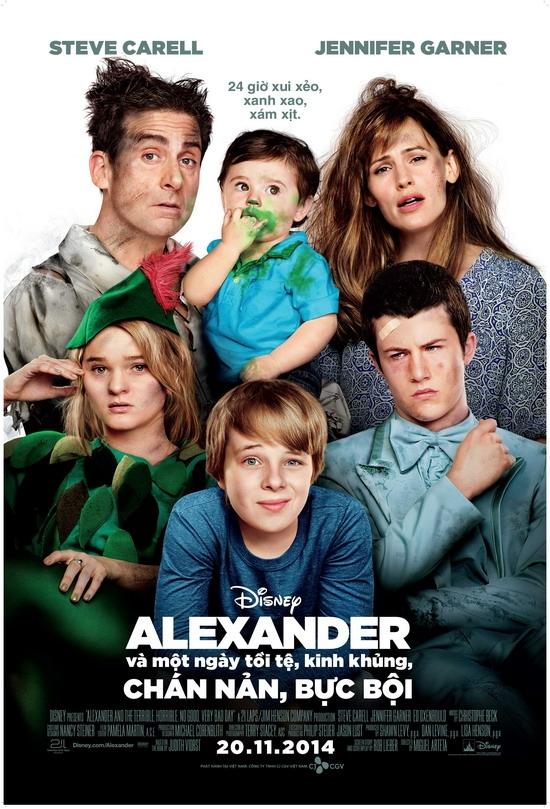 Alexander Và Một Ngày Kinh Khủng - Alexander And The... (2014)