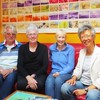 #Author Yang-May Ooi and health #writer Angie Macdonald with Shoreham #Wordfest organisers Rosalind Turner and David Johnson - #shoreham #shorehambysea #literaryfestival #literary #fest #celebrity