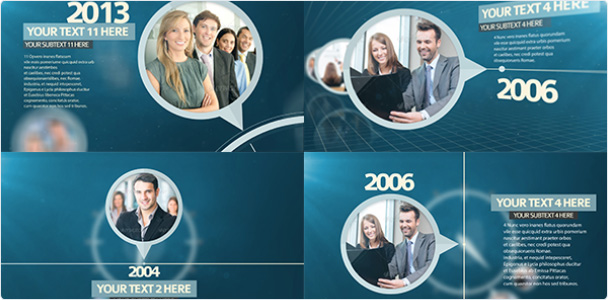 Preview_Project Corporate Timeline Pack