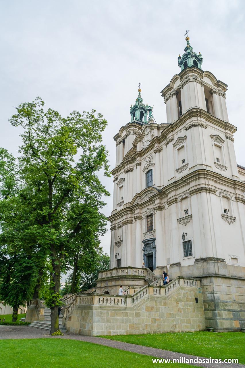 Skałką, la iglesia en la roca