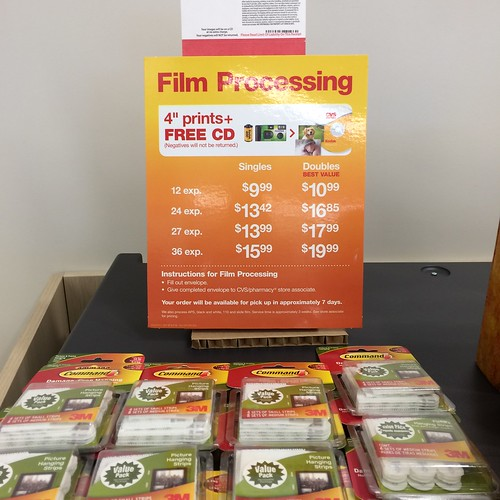 "Film Processing price, seen at ""Longs Drugs"""