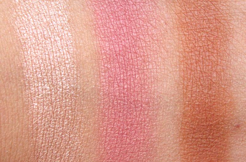 Estée Lauder summer glow multi-palette swatch
