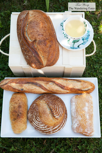 Our loaves of bread at home