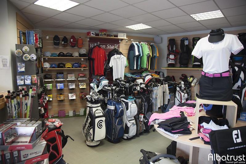 photo du golf Golf des Chanalets - Club House - ProShop