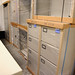 Selection of filing cabinets and storage units