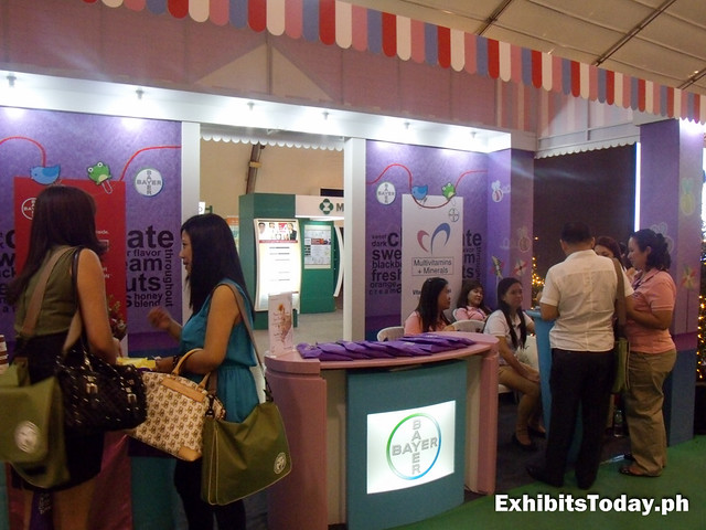 Bayer Exhibit Booth
