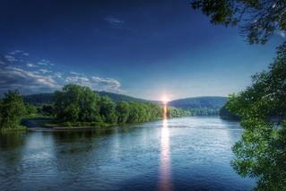 Binghamton  New York  ~  Susquehanna River ~ Historical