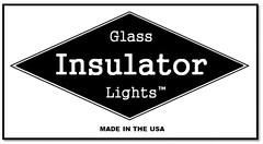 Glass Insulator Lights Made In The USA