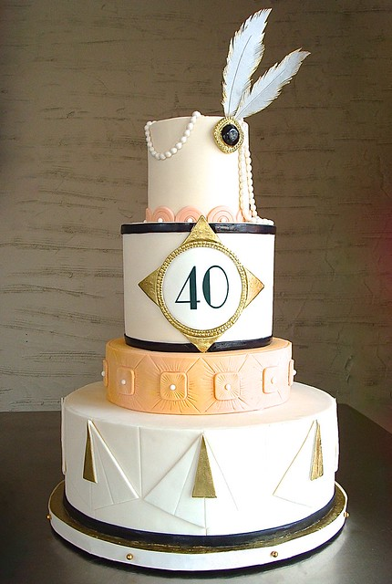 Art Deco Birthday Cake : Flickriver: Most interesting photos tagged with 1920scake