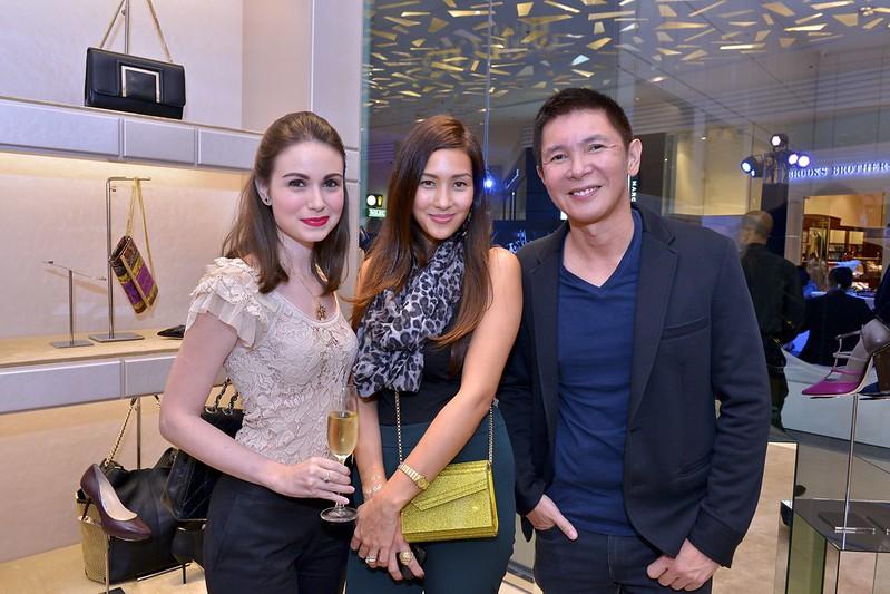 Rima Ostwani, Mikaela Lagdameo-Martinez, Richard Tiu