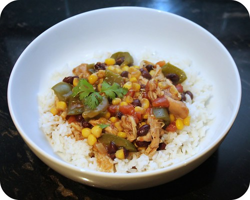 Crockpot TexMex Chicken Stew