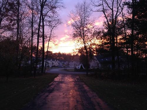 morning boston sunrise dawn 紫气东升