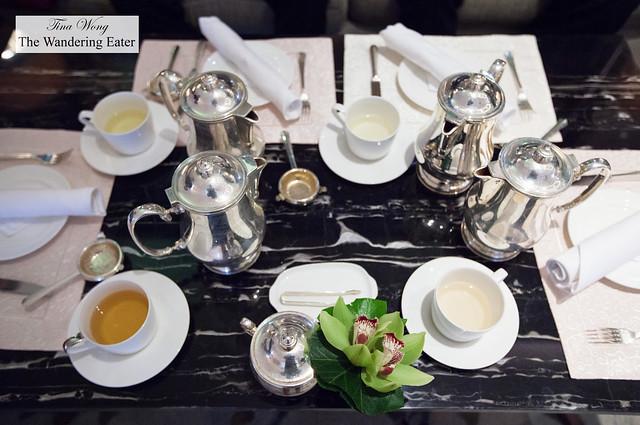 Our teas
