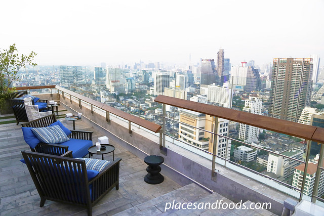 38th bar mode sathorn seats with view