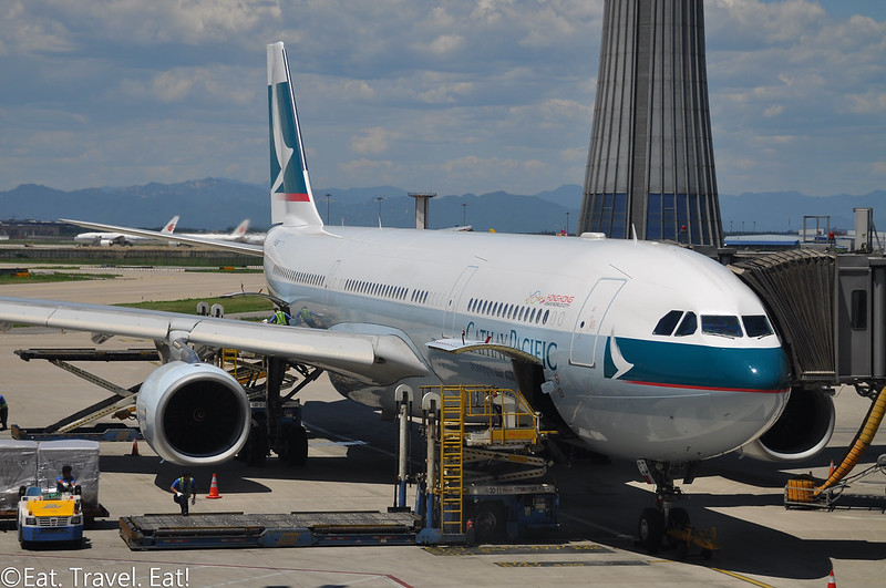 Cathay Pacific CX 391 (PEK- HKG): B-LBB 1000th A330