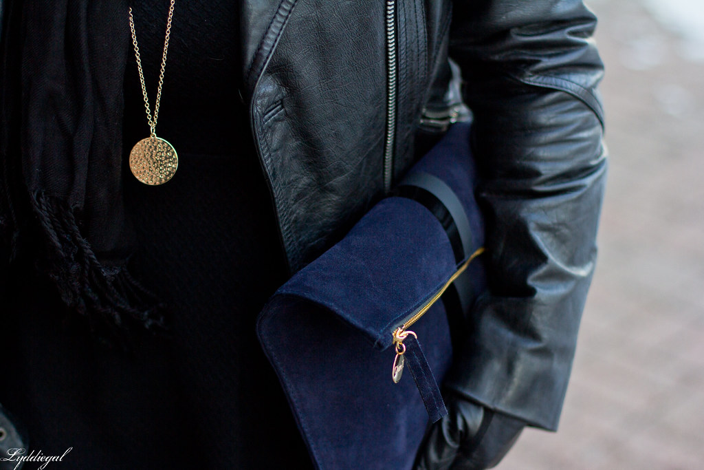 LBD, Leather jacket, Navy fedora-5.jpg
