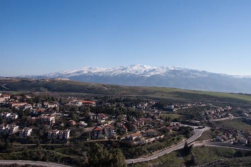 lebanon snow israel syria לבנון ישראל golanheights metula שלג מושלג רמתהגולן סוריה מטולה david55king