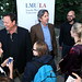 LMU School of Film & Television posted a photo:	Bobby and Peter mingle with the crowd of students who attended The Hollywood Masters Nov. 5.