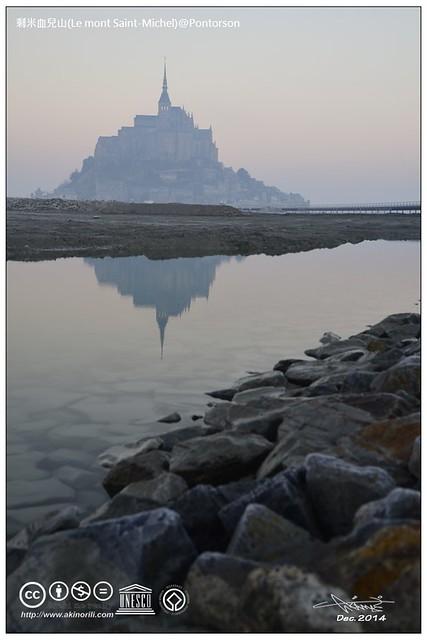 聖米歇爾山(Le mont Saint-Michel)@Pontorson