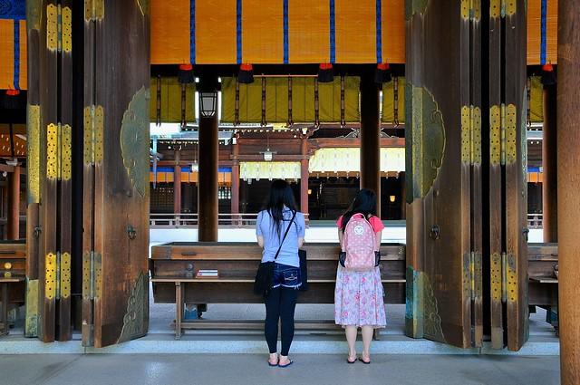 Prayer at Meiji Jingu
