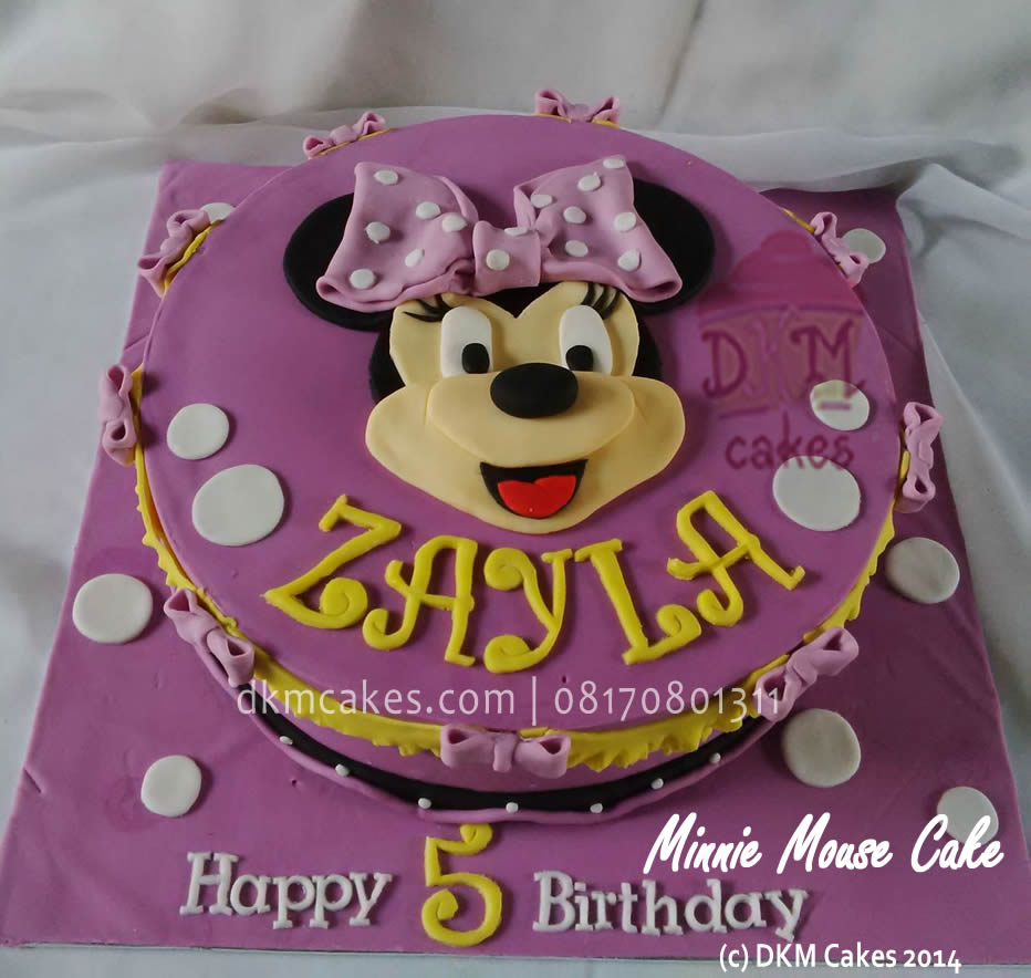 Minnie Mouse Dkm Cakes Toko Kue Online Jember