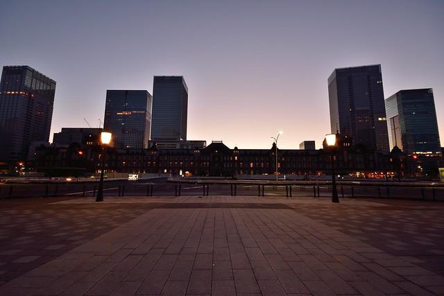 東京駅_夜明け