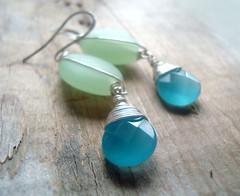 turquoise, aqua, turquoise, jewellery, teal, gemstone, green, earrings, jade,