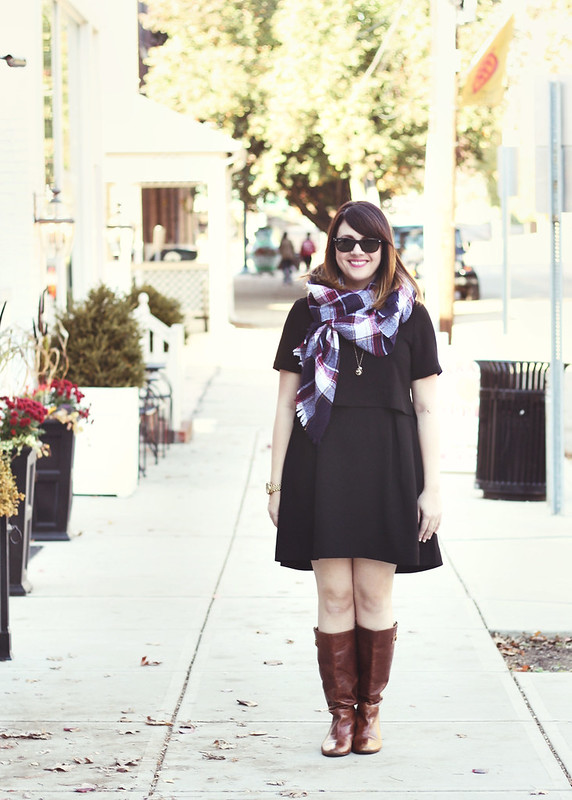 Madewell Dress + Scarf2