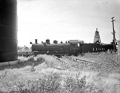 [Atchison, Topeka, & Santa Fe, Locomotive No. 1100 with Tender, Broadside]
