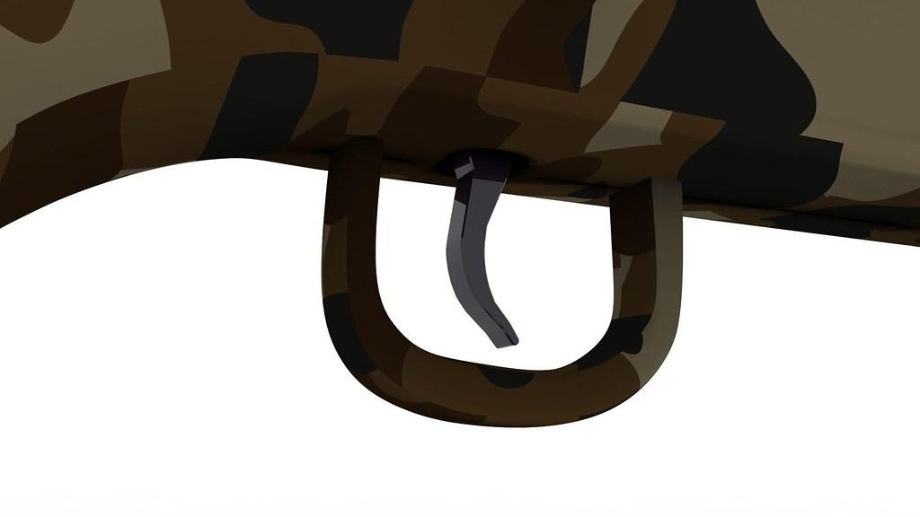 Remington 700 Sniper Rifle Textured 3d Model