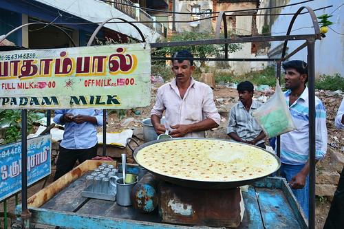 India - Tamil Nadu - Tiruchirappalli - Badam Milk (Almond Milk)