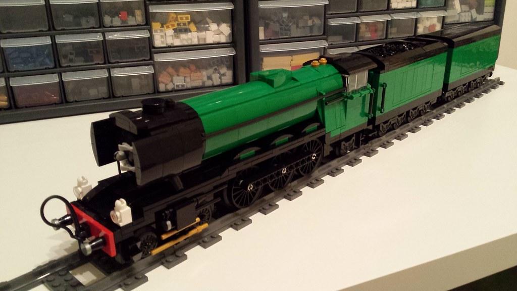 4-6-2 LNER Class A3 4472 'Flying Scotsman' - LEGO Train Tech ...