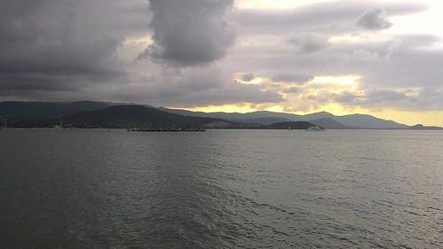 今日のサムイ島 12月16日 波が高くなりそう