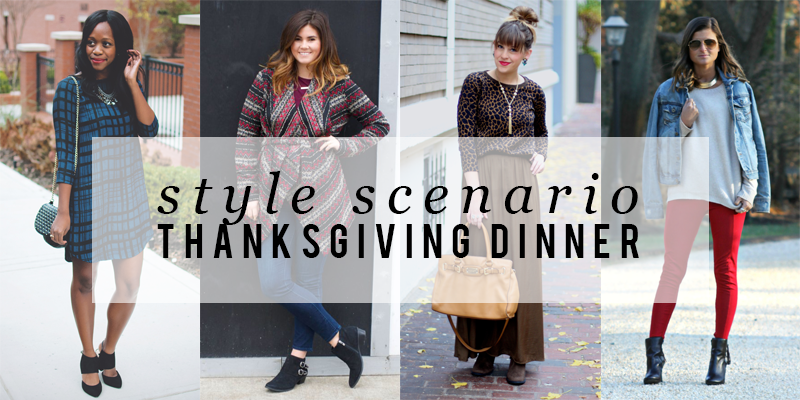 Style Scenario, Thanksgiving Dinner outfit