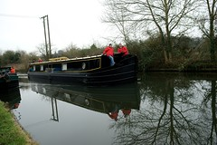 Boxing Day walk along the Grand Union Canal