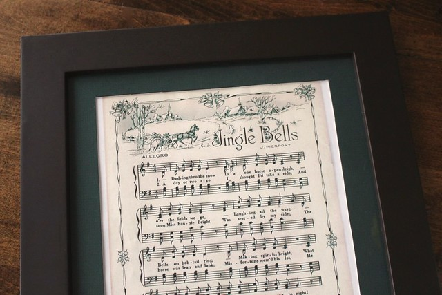 graphic relating to Free Printable Vintage Christmas Sheet Music identify Framed Printable Xmas Sheet Tunes much more tactics in the direction of hire