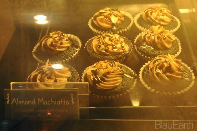 Almond Machiatto Cupcakes