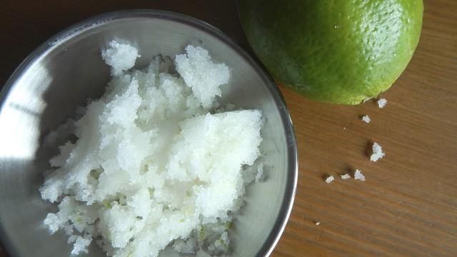 Coconut Lime Sugar Scrub 12